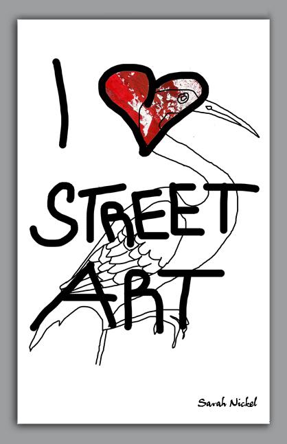 london_sarah_nickel_22_streetart_institut_red_black_white_rot_schwarz_weiß_zeichnungen_illustration